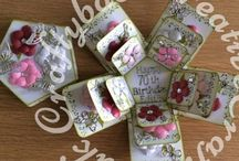 Hand Made Gift Boxes & Exploding Box Cards / Gift Boxes and expoding box cards made by me.