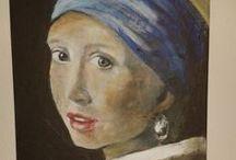 Schilderijen van Tanja / Over door mij gemaakte schilderijen en tekeningen