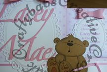 Handmade Baby Christening Baptism Cards / A selection of cards I have made for religious and non-religious Christenings, Baptisms, Naming day and thanksgiving celebrations.