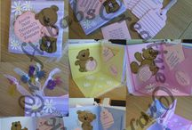 Handmade Baby Keepsakes / Here is a selection of keepsakes I have made for Baby birth and baby Christening/Baptisms.
