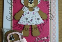 Handmade Children's Cards For Girls / A selection of cards I have made for girls of all ages
