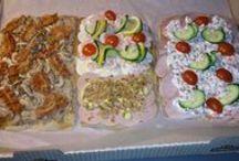 Forskelligt hjemmelavet mad / Forskellige retter vi har lavet igennem tidens løb..