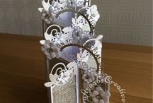 Hand Made Tattered Lace Cards / This board is a collection of cards I have made using, amongst others, Tattered Lace Dies. These were not made as samples and so I was free to use other brands of dies as well as Tattered Lace ones.