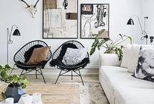 decor +  living room / sala de estar