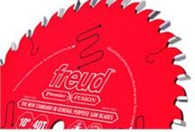 Freud / Freud has been a manufacturer of superior carbide cutting tools for more than 50 years. They are an industry leader in innovative manufacturing, precision products and quality service. Check out diamond-sharp Freud saw blades.