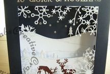 My Hand Made Christmas Cards / A selection of Christmas cards I have made for friends and family.