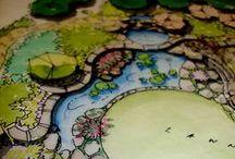 landscaping / paisagismo + representações paisagísticas