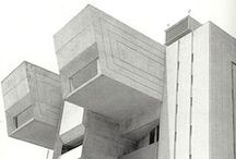 bldg.brutal / Constructivists, Brutalists to Post-Constructivists | Because 'ugly' is beautiful / by LIZ SUR