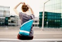 Reflect YOUR style! / Reflective bags for urban commuters. MADE IN THE CITY — FOR THE CITY. SWISS MADE.