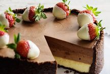 Cheesecakes Bring Cheer ☀️ / Cheesecake - great cheer me up food, guaranteed to get you through hard times!!