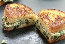 Food Ideas - Sandwiches & Breads