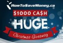 Giveaways / Everybody loves a good giveaway! I give away $50 of my own money every month and $1000 at Christmas time!