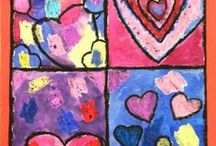 Jim Dine Art Projects / Jim Dine lesson plans, art project ideas, videos, worksheets, drawing tutorials, and inspiration for art teachers. Lots of ideas to get get your students creating a painting, drawing, sculpture, textile art, printmaking, or collage in the style of or be inspired by Jim Dine.