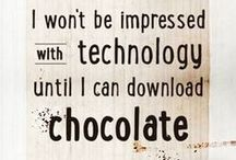 "Chocolate Quotes / ""Anything is good if it's made of chocolate."" This and many other oh-so-true, oh-so-funny chocolate quotes exist, and I've picked my favorites (all family friendly) to share with you."