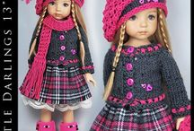 Примеры комплектов вязанной одежды для детей / Интересные модели