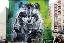 Animal street art / The vibrant and raw nature of street art fuels my passion for this kind of art. Unique and fabulous artistic street art creations of animals from around the world.