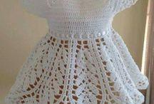 Платья с короткими рукавами вязаные
