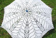 Зонты вязаные
