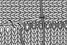 Сшивание готового вязаного изделия