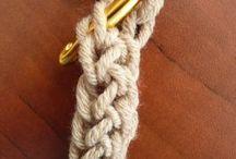 Шнуры вязаные