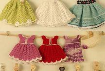 Одежда для игрушек вязаная