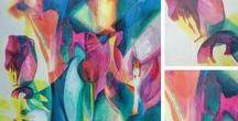 Acrylic paintings, Fine Arts KK / Original acrylic paintings by Katarina Kacicova.
