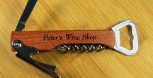 Wine Accessories / Personalized Wine Related Items