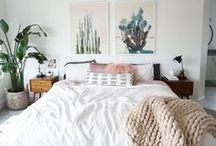 Bedroom Design & Decor / Bedroom design and decor ideas. How to create a restful and tranquil bedroom? Or are you looking for more passionate designs? Discover cozy beds, beautiful quilts, and pillows, find original wall art for your berdoom!  +++  bedroom ideas, bedrooms, bedroom wall decor, bedroom wall colors, bedroom wall art, bedroom walls ideas, gallery wall ideas, modern gallery wall, photo decor wall, photo decorations, photo decor ideas, printable wall art, prints set wall art, poster set wall art
