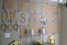 Gallery Wall Layouts / Gallery walls are so popular and trendy! How to create perfect and balanced gallery wall layout? Find perfect combination for your wall, create your own and original gallery wall! How to hang art above your sofa? There are so many combinations, choose one for your interior! +++ gallery wall, gallery wall layout, gallery wall template, how to hang gallery wall, gallery wall ideas