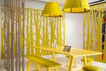 Yellow in the Interior / Refresh your interior with color of creativity, happiness and emotional strength! Discover home decor, wall decor or furniture in all juicy yellow shades - do you like lemon, banana or pineapple yellow? living room ideas, apartment decorating, gallery wall living room, gallery wall ideas, modern gallery wall, photo decor wall, photo decorations, photo decor ideas, printable wall art, prints set wall art, poster set wall art, painting printables, original paintings, b&w prints, b&w printable