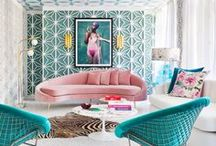 Turquoise in the Interior / Harmony and balance between blue and green - that is turquoise, color of empathy and healing. Bring it to your interior and enjoy calming and tropical atmosphere.  +++  interior design, interior design ideas, living room ideas, apartment decorating, gallery wall living room, gallery wall ideas, modern gallery wall, photo decor wall, photo decorations, photo decor ideas, printable wall art, prints set wall art, poster set wall art, painting printables, original paintings