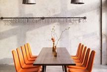 Orange in the Interior / Merigold, Honey, Carrot or Tangerine - find your favorite orange shade! Refresh your interior with stimulating, vibrant and playful color. +++ living room ideas, apartment decorating, gallery wall living room, gallery wall ideas, modern gallery wall, photo decor wall, photo decorations, photo decor ideas, printable wall art, prints set wall art, poster set wall art, painting printables, original paintings
