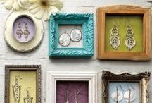 Jewelry Booth Ideas / Ideas for displaying all the treasures I create in a lovely manner.