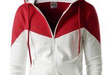 Men's Hooded Jackets / Korean style hooded jackets for men.