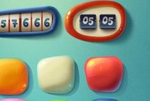 Game UI - Sweet / Some nice User Interfaces for cute games.