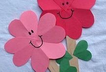 Valentine crafts / by Kids @ Newport Public Library