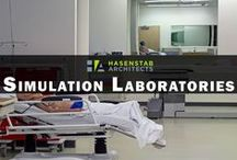 Simulation Laboratories / Simulation Labs have become a vital part of healthcare education. Hasenstab has designed an array of simulation laboratories in varying sizes and scopes based on our clients' needs.