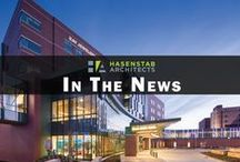 HA in the News / Press coverage of Hasenstab Architects' projects.