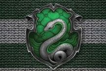"SLYTHERIN PRIDE / ""Slytherin will help you on your way to greatness"""