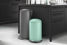 Hailo Trend Colours 2016 / Inspired by nature: for its 2016 trend colours, Hailo is following today's world of fashion and interior design and favours gentle feel-good hues. They create a soothing distance from everyday life and bestow a pleasing lightness on their setting. Perfect for Hailo waste bins, they play out their decorative strength in an interplay with en vogue styles for living - from clean chic and industrial flair right through to modern country cottage style.