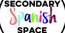 Secondary Spanish Space / We are 10 Middle and High School Spanish teachers who blog together at www.SecondarySpanishSpace.com. On this pinboard, we share blog posts written by us and others that we find useful to the secondary Spanish classroom.