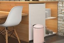 Hailo Trend Colour 2017 / With Pink Powder, Hailo is launching a new trend colour for its range of waste bins, and the pale pink tone is superbly uncomplicated and has a true talent for coordination.
