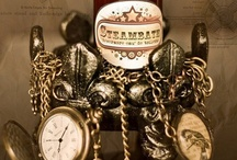 Steampunk Inspiration / Take a look around for all kinds of steampunk inspiration: costumes, props, books, jewelry, design,...