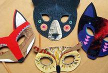 masque / des idées pour créer et porter des masques !