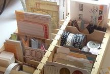 Craft Room Ideas / Some great inspiration for craft room organization and decoration