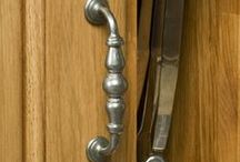 Handles and Knobs / Handles are an important accessory to any frontal. We have collated a wonderful range to complement our solid oak cabinetry; please browse our board to learn more.