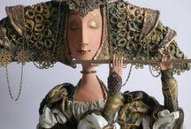 postacie, rzeźby, lalki