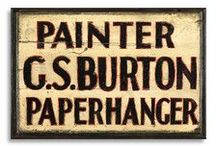 Historic Trade Signs / Antique and Traditional Figurative and Signwritten Trade Signs.