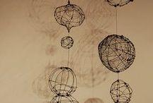 wire / oplatanie drutem, inspiracje
