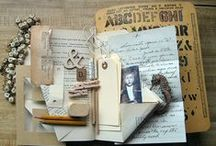 Junk Journal, Art Journal & Smash Book Inspiration / Inspiration for junk journals and smash books, the most fun journals ever